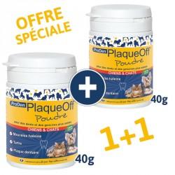 PlaqueOff Poudre 40g 1 acheté + 1 offert